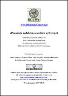 ePoradnik redaktora zasobów cyfrowych [2007-05-28]