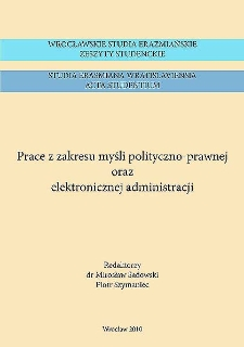 Koncepcja notariatu polskiego według Władysława Leopolda Jaworskiego