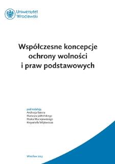 """Konstytucyjne prawa jednostki w Rzeczpospolitej Polskiej a """"narodowość śląska"""""""
