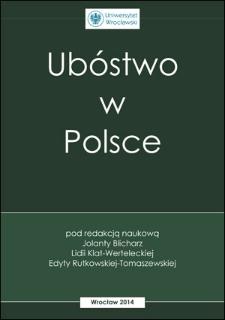 Rola naczelnych organów administracji rządowej wzwalczaniu ubóstwa wPolsce