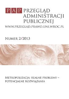 Przegląd Administracji Publicznej - Przedmowa