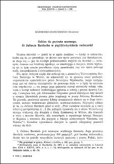 Szkice do portretu uczonego : o Juliuszu Bardachu w pięćdziesięciolecie twórczości