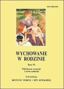 Wychowanie w Rodzinie, T. 6 (2012). Wstęp