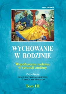 Wychowanie w Rodzinie, T. 3 (2011). Wstęp