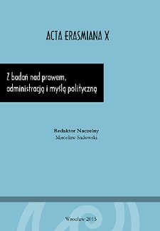 Pochodne formy nabycia obywatelstwa oraz jego utrata w systemach prawnych Polski i Niemiec. Kwestia obywatelstwa kobiet zamężnych