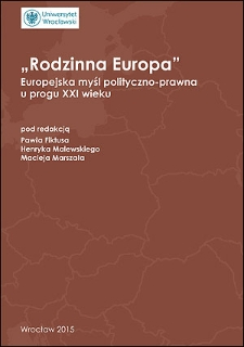 W obronieinteresów narodowych i tożsamości politycznej Europy Środkowo-Wschodniej: Eurorealizm w myśli politycznej Prawa i Sprawiedliwości