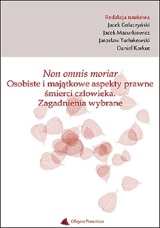 Prawne i ekonomiczne aspekty polskiej branży funeralnej – spojrzenie antropologa