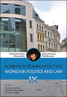The political and legal context of the introduction of women's suffrage in Poland