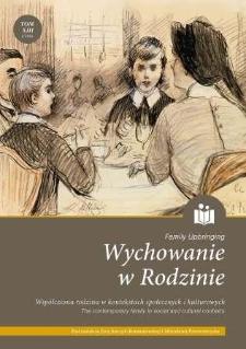 Wychowanie w Rodzinie, T. 13 (1/2016). Wprowadzenie