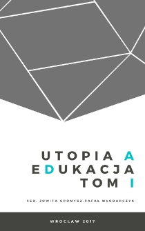 Utopia in the perspective of modern pedagogy