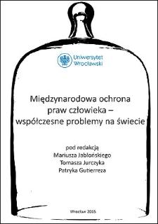 Wybrane polskie cenzusy wyborcze w świetle standardów międzynarodowych