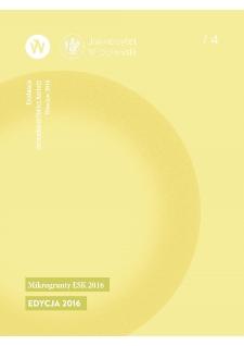 """Raport """"mikroGRANTY ESK 2016"""" Edycja 2016"""