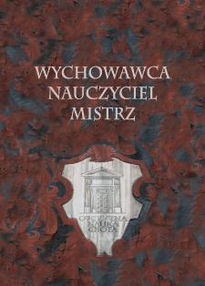 W poszukiwaniu mistrza i autorytetu duchowego. Ojciec Jacek Woroniecki OP we wspomnieniach współbraci zakonnych, uczniów i przyjaciół