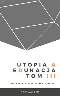Utopia wojny, czyli o dobru, które ją sprowadza, i edukacji, która jej służy