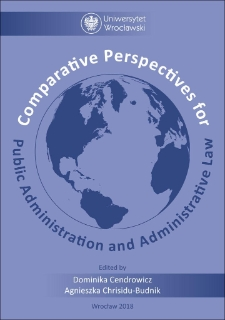 Comparative Perspectives for Public Administration and Administrative Law : Preface