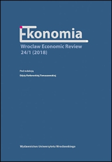 Ekonomia — Wroclaw Economic Review - Wstęp
