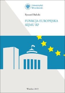 Funkcja europejska Sejmu RP
