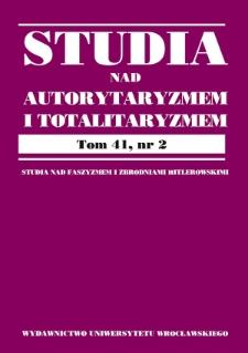 Polityka gospodarcza III Rzeszy w ujęciu polskich ekonomistów tamtego czasu