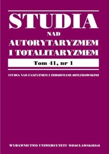 Rola byłych funkcjonariuszy komunistycznych służb specjalnych w cywilnym wywiadzie i kontrwywiadzie Polski i Czech w latach 1989– 2018