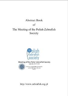 Abstract BookofThe Meeting of the Polish Zebrafish Society