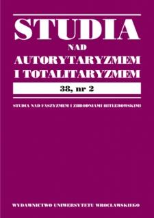Domniemane i rzeczywiste kontakty prominentów nazistowskich z polskością przed 1933 rokiem