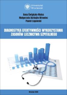 Diagnostics of efficiency of hospital resources usage