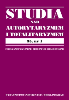 Civil society in Poland in the 1990s. Ideas and their reflection in the Constitution and in jurisprudence