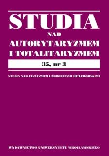 Prawna i faktyczna sytuacja włoskich Żydów w dobie prześladowań faszystowskich 1938–1943