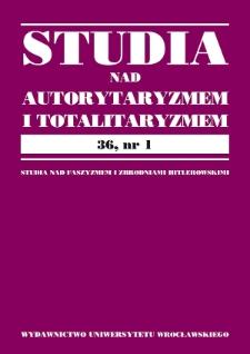 Kastracja przestępców seksualnych w Trzeciej Rzeszy w świetle śląskich dokumentów prowincjonalnych
