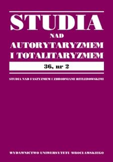 Analiza komparatystyczna współczesnego nacjonalizmu państw Europy Środkowo-Wschodniej i Zachodniej