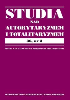 O filozofii prawa Trzeciej Rzeszy na sposób sokratejski: Tadeusza Guza interpretacja nazistowskiej filozofii prawa