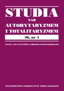 Istota i przyszłość totalizmu w spojrzeniu polskich przedstawicieli nauk społecznych 1918–1939