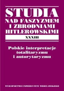 """Teoria """"rewolucji antyliberalnej"""". W kręgu interpretacji totalizmu w polskiej myśli politycznej 1918–1939"""