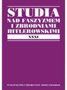 Ze studiów nad ściganiem zbrodni nazistowskich w polskim systemie prawnym