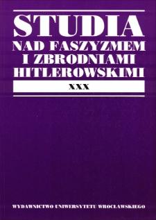 Niemiecka Partia Robotnicza. O prapoczątkach organizacji narodowosocjalistycznej w Bawarii 1904–1920