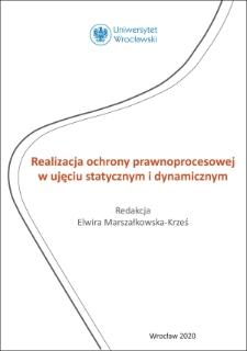 Zasady ogólne postępowania restrukturyzacyjnego i postępowania upadłościowego