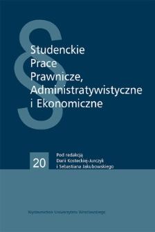 Próba uchwycenia kierunków zmian w zakresie klauzuli rebus sic stantibus w Polsce