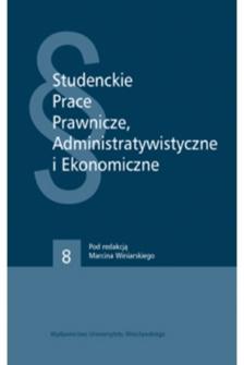 Autonomia instytucjonalna a podatność struktury administracji w procesie europeizacji prawa administracyjnego