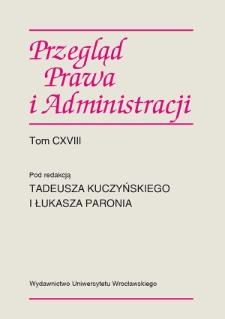 Rozwój regulacji dotyczących ustroju i kompetencji inspekcji pracy w Polsce