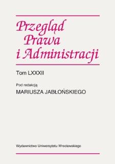 Wpływ orzecznictwa polskich sądów administracyjnych na stosowanie Europejskiego kodeksu dobrej administracji