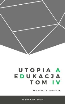 Utopia – prison – resocialization. Problem with destroyer of social order