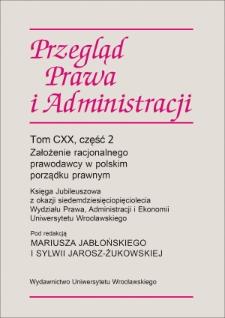 Koncepcja zamiany odpowiedzialności za wykroczenia w odpowiedzialność administracyjną
