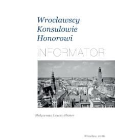 Wrocławscy Konsulowie Honorowi. Informator