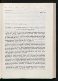 Nadmiar czy niedorozwój? Ewolucja struktur politycznych w Drugiej Rzeczypospolitej