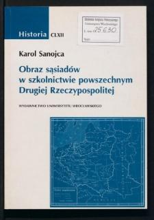 Obraz sąsiadów w szkolnictwie powszechnym Drugiej Rzeczypospolitej