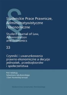 Prawo o zgromadzeniach w świetle nowelizacji z 2016 roku — zagadnienia wybrane