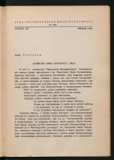 Zapomniany piewca Konstytucji 3 Maja