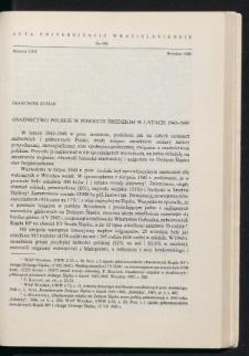 Osadnictwo polskie w powiecie średzkim w latach 1945-1949