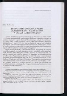 Pomoc amerykańska dla Polski (październik 1956 - czerwiec 1957) w oczach amerykańskich