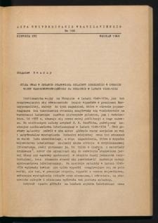 Kilka uwag w sprawie stanowiska szlachty lubelskiej w okresie wojny narodowowyzwoleńczej na Ukrainie w latach 1648-1654
